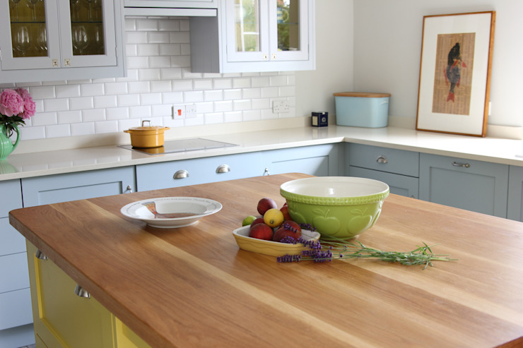 Oak Worktops Norfolk Oak Cocinas de estilo moderno