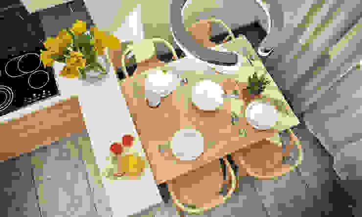 Дизайн кухни в современном стиле. Кухня в скандинавском стиле от Александра Петропавловская Скандинавский