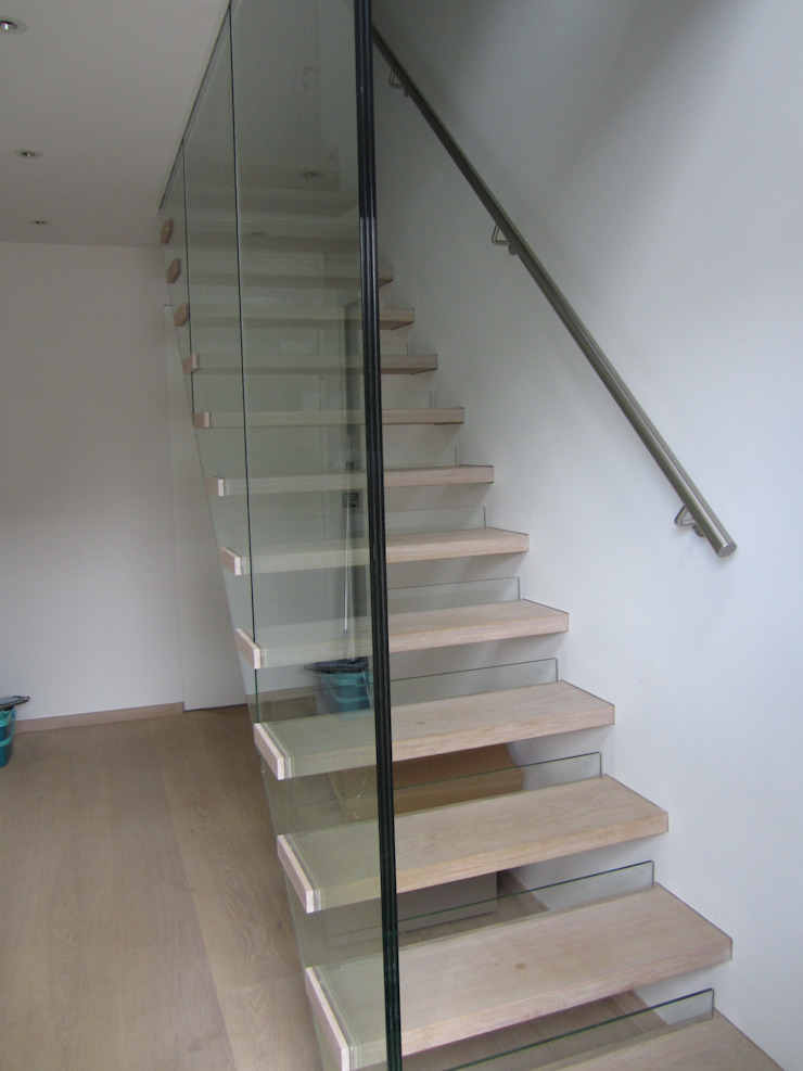 Designtreppe Siller Treppen/Stairs/Scale Treppe Holz Beige