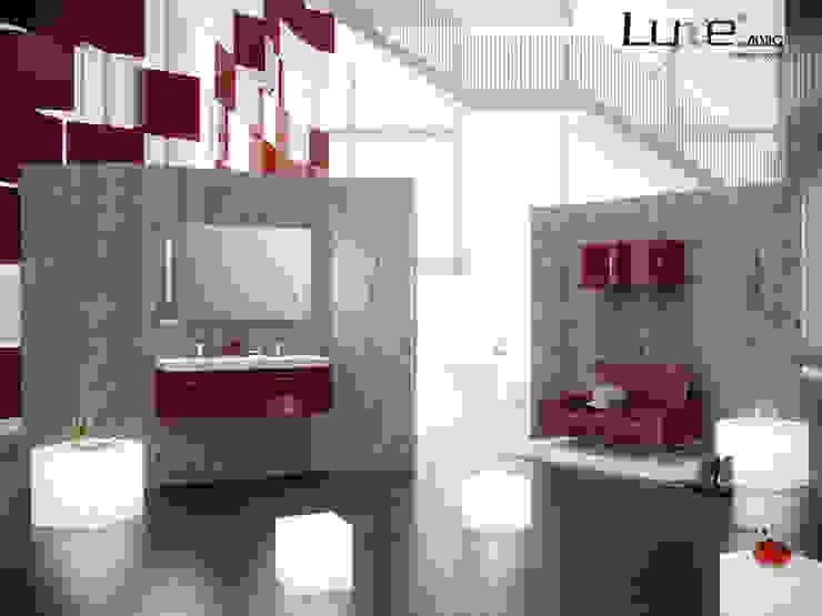 Muebles de baño en alto brillo Luxe by Alvic de ALVIC Moderno