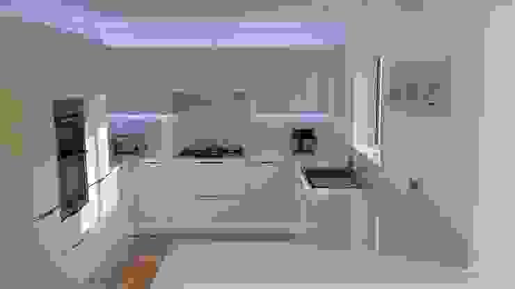 Ad hoc Cocinas modernas de AD3 Design Limited Moderno