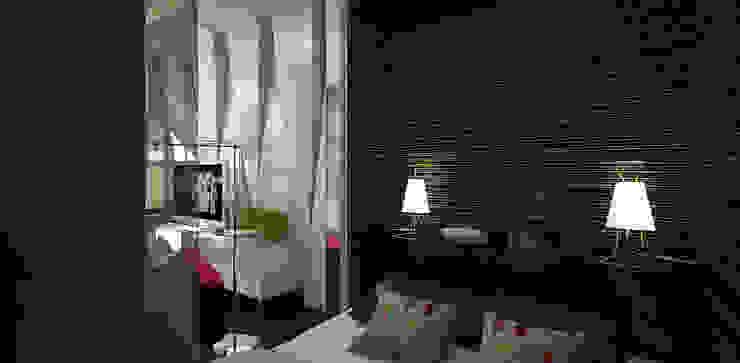 Minimalist bedroom by Александра Петропавловская Minimalist