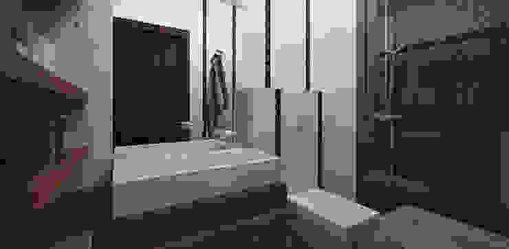 Minimalist style bathroom by Александра Петропавловская Minimalist