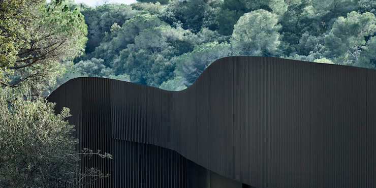 House in L'Ametlla del Vallès 根據 MIRAG Arquitectura i Gestió 地中海風
