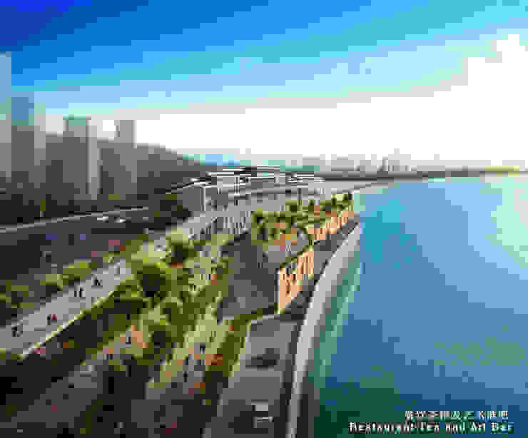 Cultural Plaza Nanbin Lu Ertang, Banan District Chongqing (Cina) Musei moderni di VMCF ATELIER Moderno