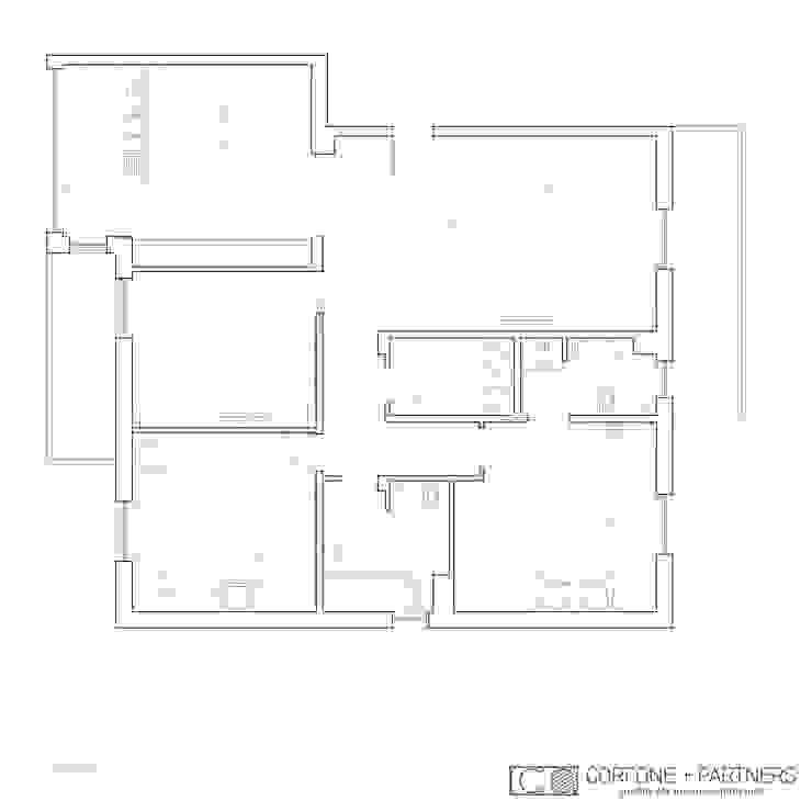 CASA I7 di CORFONE + PARTNERS studios for urban architecture Moderno