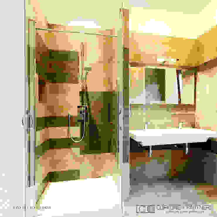 CASA I7 Bagno moderno di CORFONE + PARTNERS studios for urban architecture Moderno