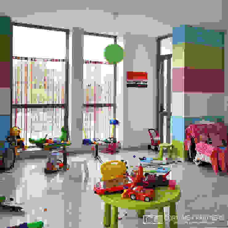 Quartos modernos por CORFONE + PARTNERS studios for urban architecture Moderno