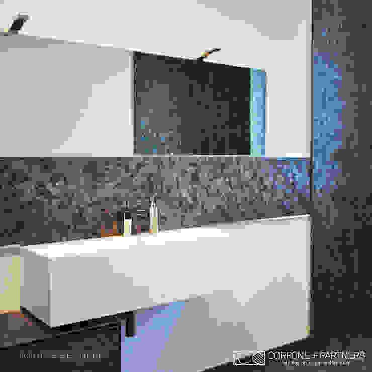 Casas de banho modernas por CORFONE + PARTNERS studios for urban architecture Moderno