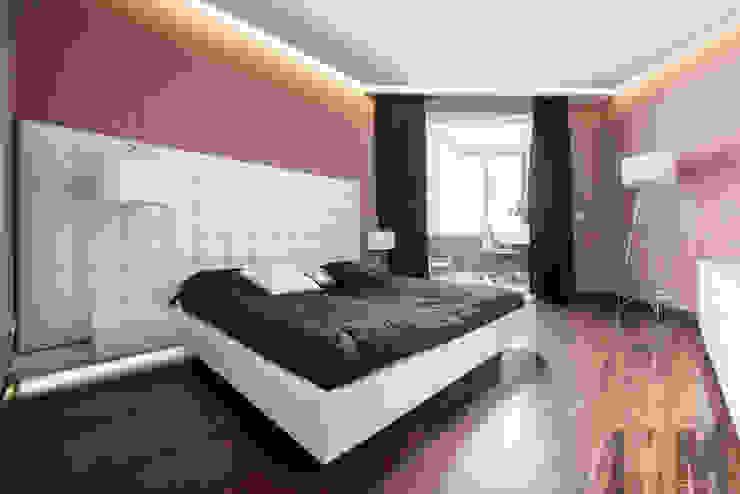 В потоке света Спальня в стиле минимализм от ММ-design Минимализм
