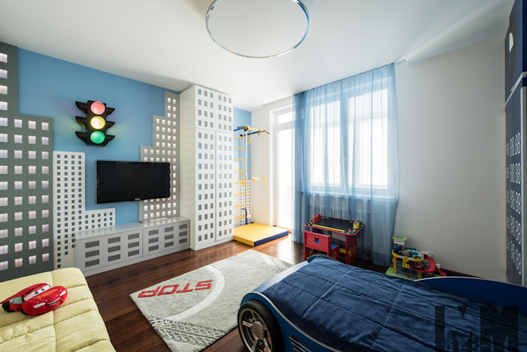 В потоке света Детская комнатa в стиле минимализм от ММ-design Минимализм