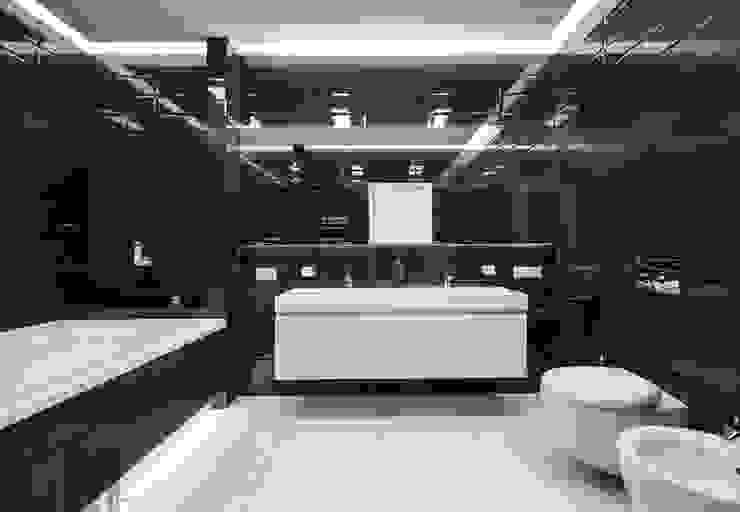 В потоке света Ванная комната в стиле минимализм от ММ-design Минимализм