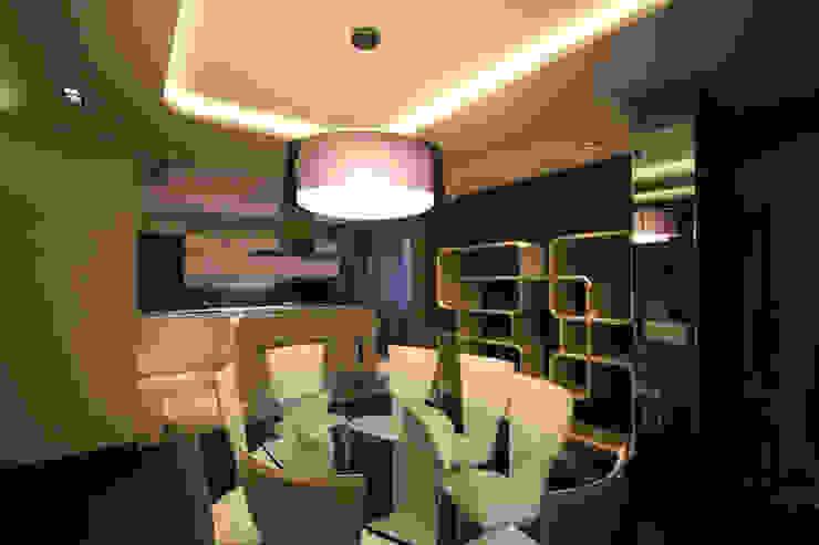 Ruang Makan Minimalis Oleh ММ-design Minimalis