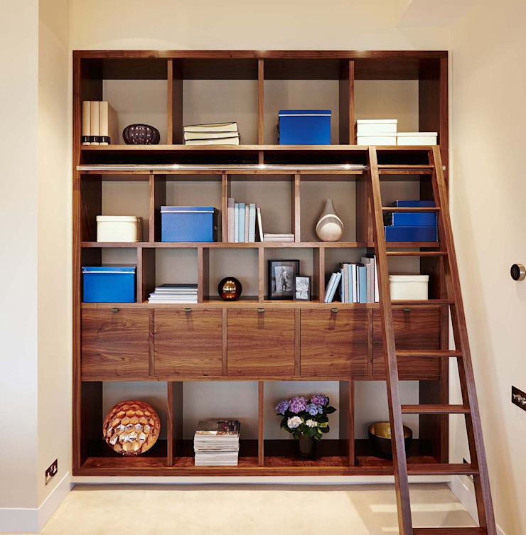 Penthouse Interior Design, River Thames, London Residence Interior Design Ltd Modern living room