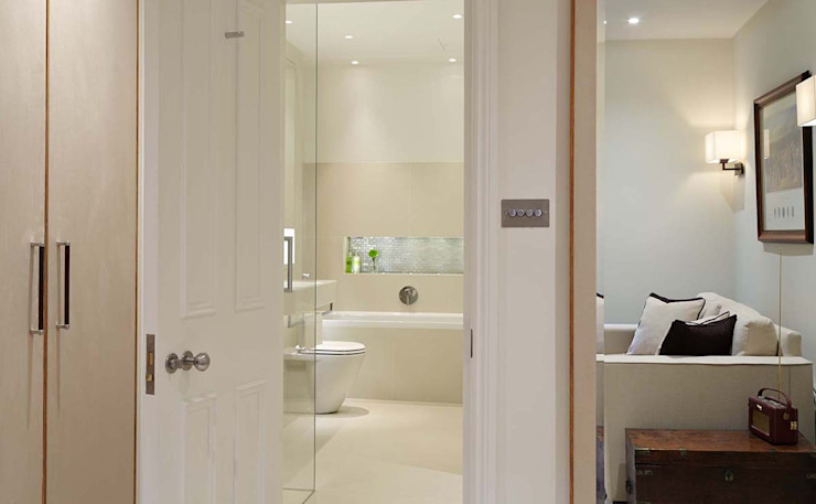 Master Suite Design, Parson's Green, London Residence Interior Design Ltd Maisons modernes