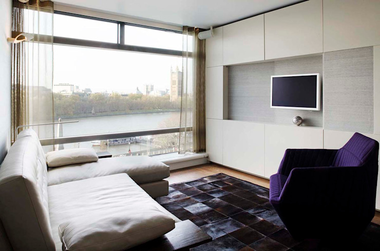 Parliament View Interior Design, Lambeth Bridge, London Residence Interior Design Ltd Maisons modernes