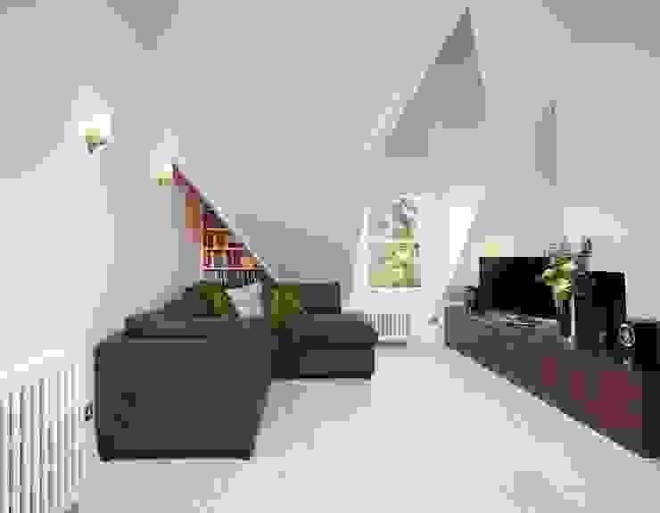 Parliament Hill Interior Design, Hampstead, London Residence Interior Design Ltd Scandinavian style living room