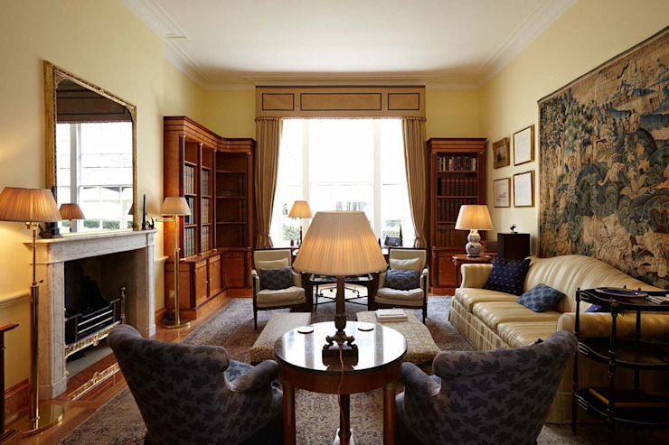 Albany, Piccadilly, Westminster, London Residence Interior Design Ltd Casas de estilo clásico