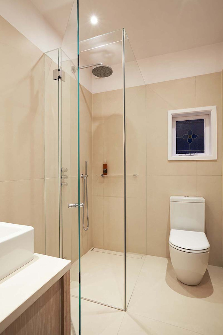 Parliament Hill Interior Design, Hampstead, London Scandinavian style bathroom by Residence Interior Design Ltd Scandinavian