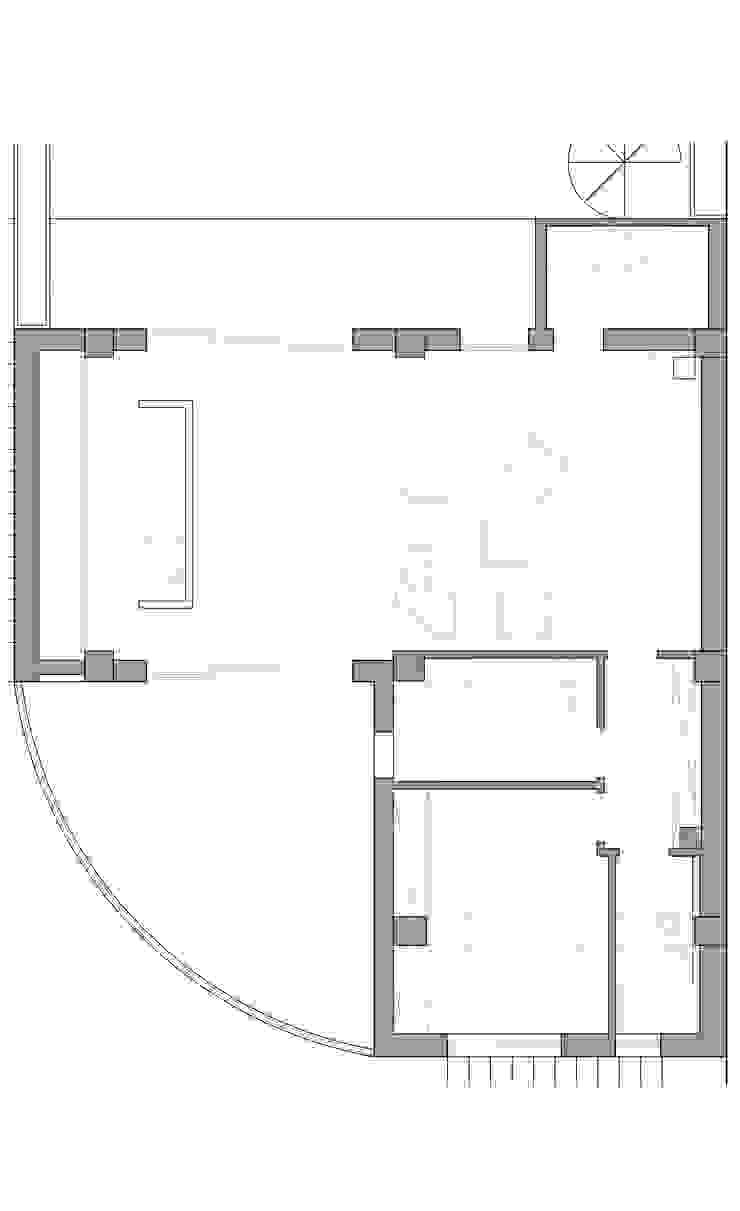 GRAZIANIDICEMBRINO CASA G+P pianta Case in stile minimalista di GRAZIANI & DICEMBRINO Minimalista