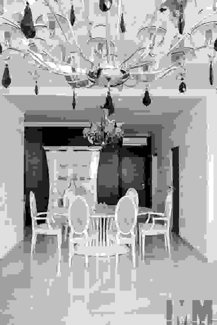 Просетлённый ар-деко Столовая комната в классическом стиле от ММ-design Классический