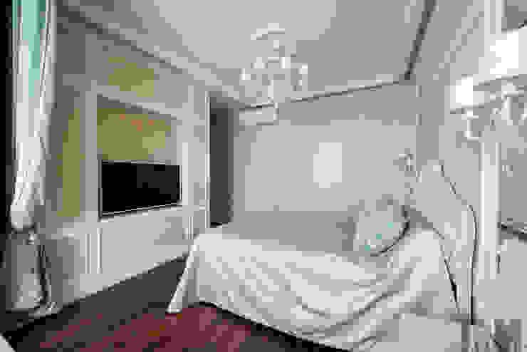 Просетлённый ар-деко Спальня в классическом стиле от ММ-design Классический