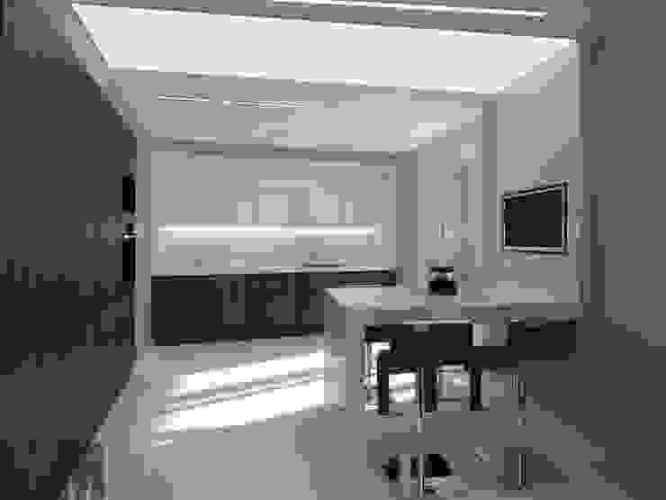 Уют минимализма Кухня в стиле минимализм от ММ-design Минимализм