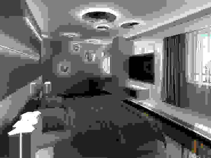 Уют минимализма Спальня в стиле минимализм от ММ-design Минимализм