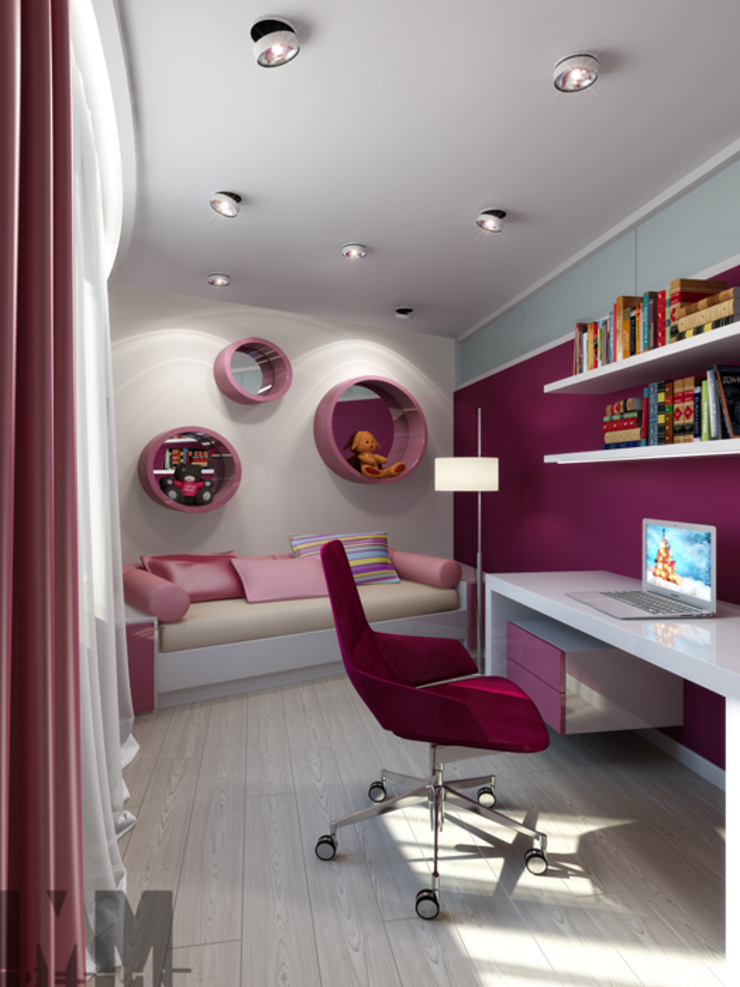 Уют минимализма Детская комнатa в стиле минимализм от ММ-design Минимализм
