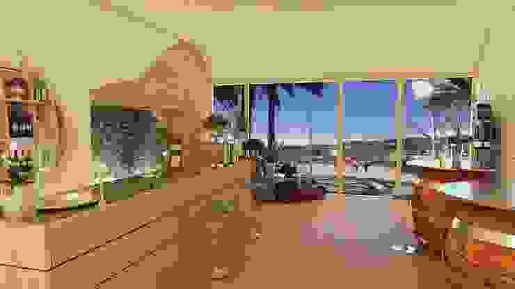 VISUALIZZAZIONE GRAFICA LOCALE MULTIFUNZIONALE Spazi commerciali di Home-designer.it Consulenza e Progettazione Interni