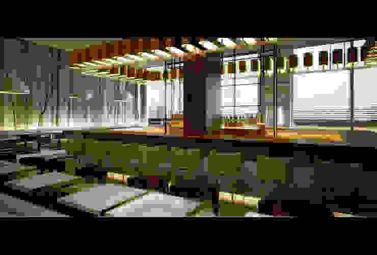 HOTEL Modern hotels by Esra Kazmirci Mimarlik Modern