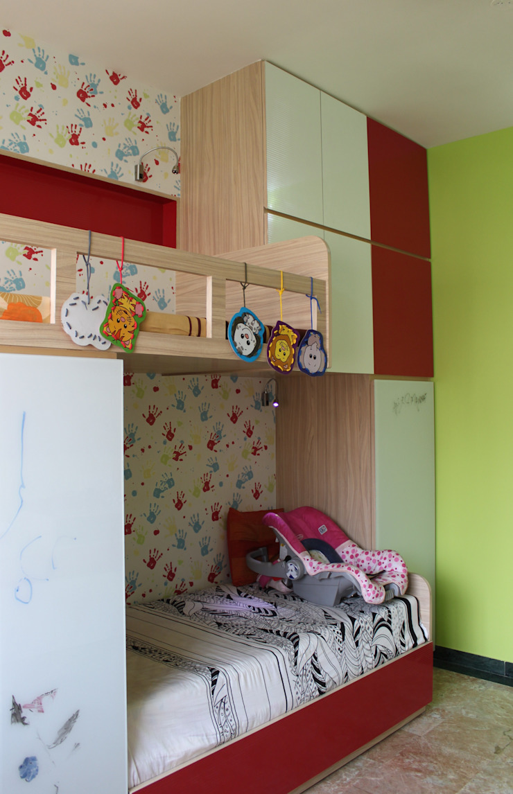 SHARED SPACE Nursery/kid's room by Hopskoch