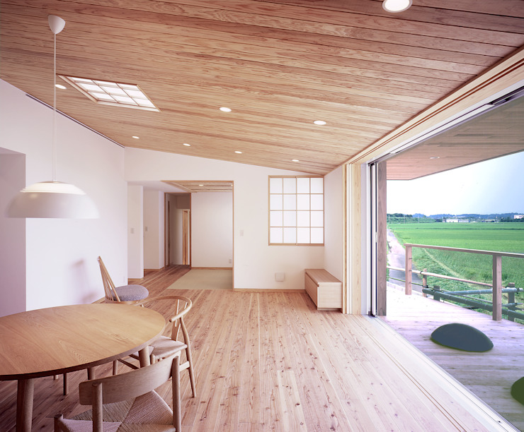 Ruang Keluarga Modern Oleh ㈱ライフ建築設計事務所 Modern