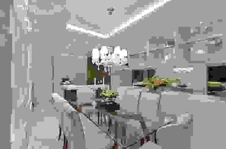 Sala de jantar S|R Salas de jantar clássicas por Redecker + Sperb arquitetura e decoração Clássico
