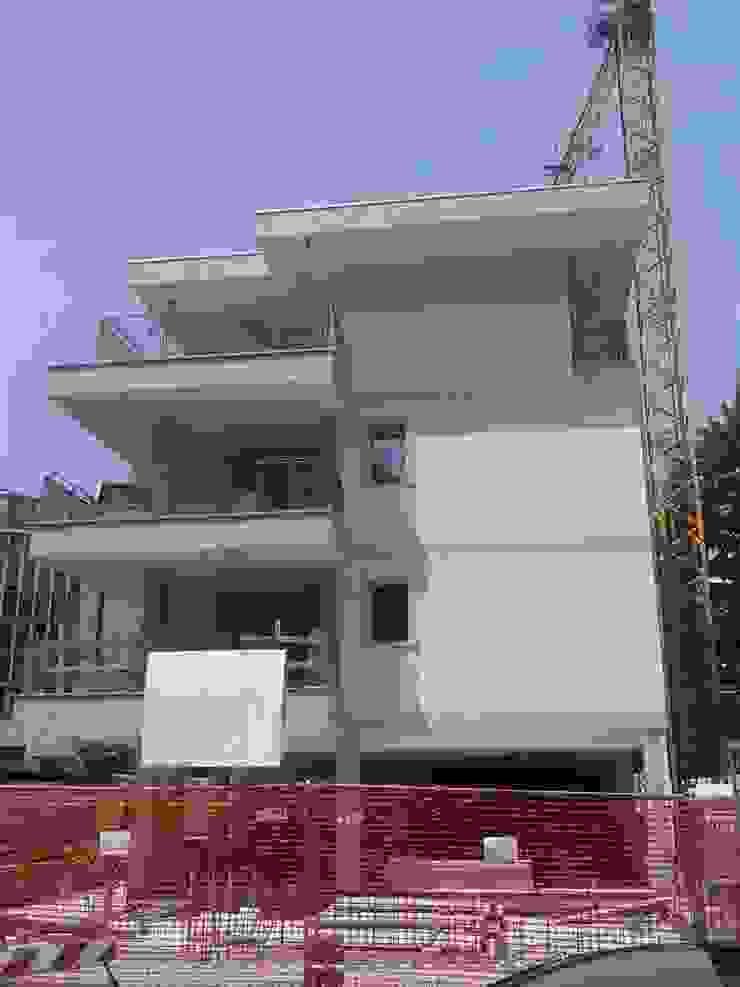 Edificio Residenziale via Brambilla Cinisello B.mo di Studio Guzzo & Partner Minimalista