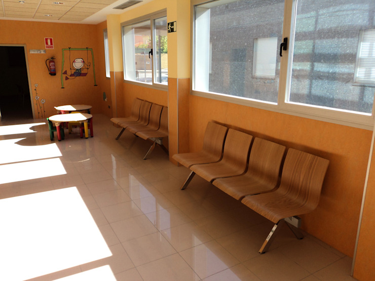 BANCADA JOKER Escuelas de EXIT SEATING BARCELONA