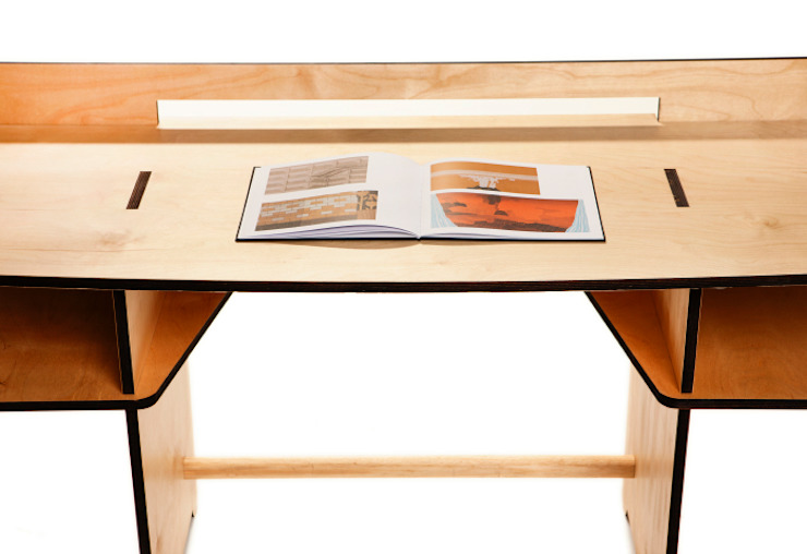scrivania smontabile 113 x 50 h 74 di MARIO PAGLIARO DESIGN Moderno