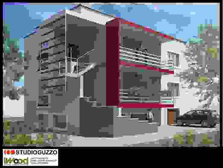 Recupero sottotetto via Limonta Cinisello B.mo con struttura portante in XLAM di Studio Guzzo & Partner Moderno