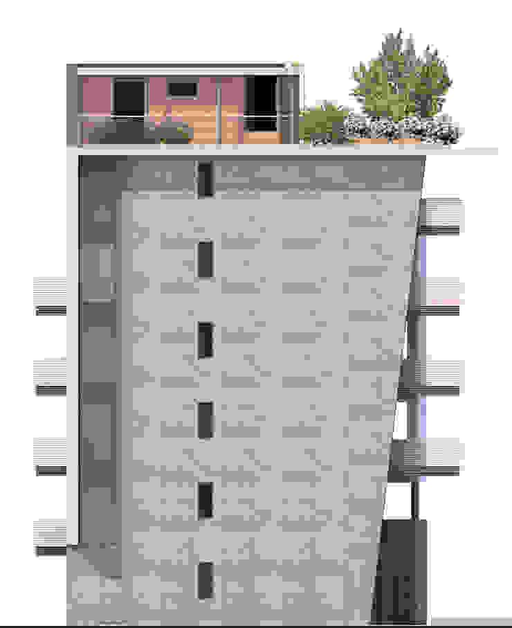 Residenza MM, Verona 2013 di MONTRESOR & ARDUINI Moderno