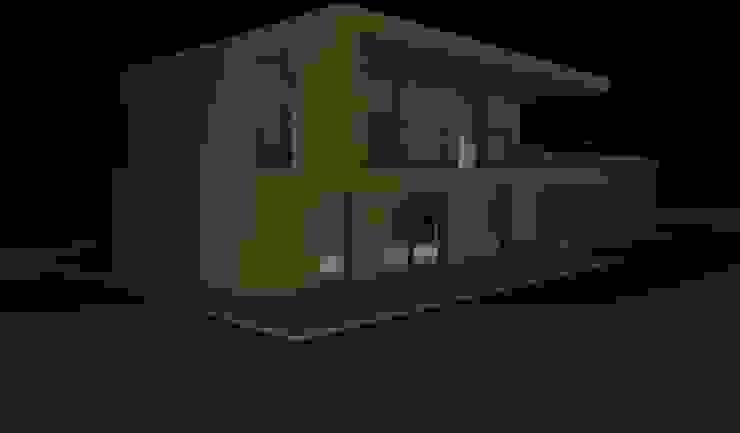 P3 Balcones y terrazas de estilo minimalista de Emilio García Roca Minimalista