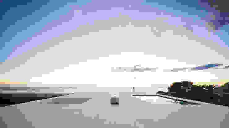 House of the Infinite Piscinas de estilo moderno de Alberto Campo Baeza Moderno