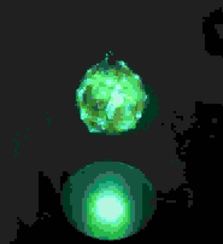 Bombulis felt lamp 2014 di Judith Byberg