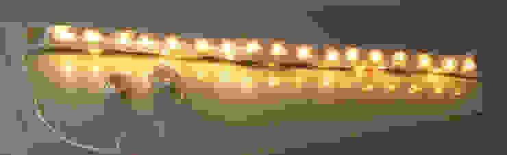 Lamp B in felt and recycled material 2014 di Judith Byberg Scandinavo