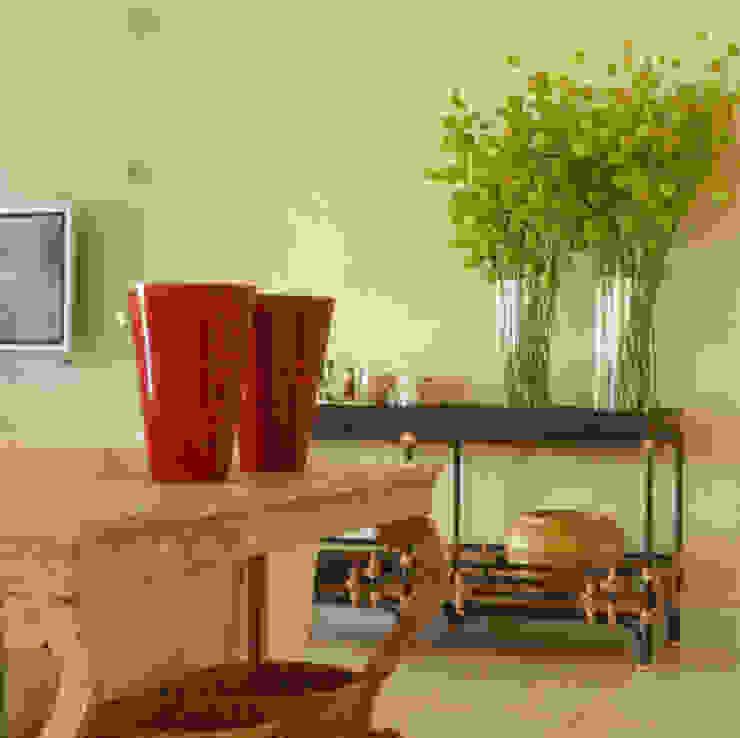 Casa Iporanga:  tropical por Studio Oscar Mikail,Tropical