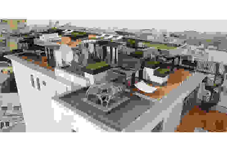 Чёрная лента Дома в стиле минимализм от ММ-design Минимализм