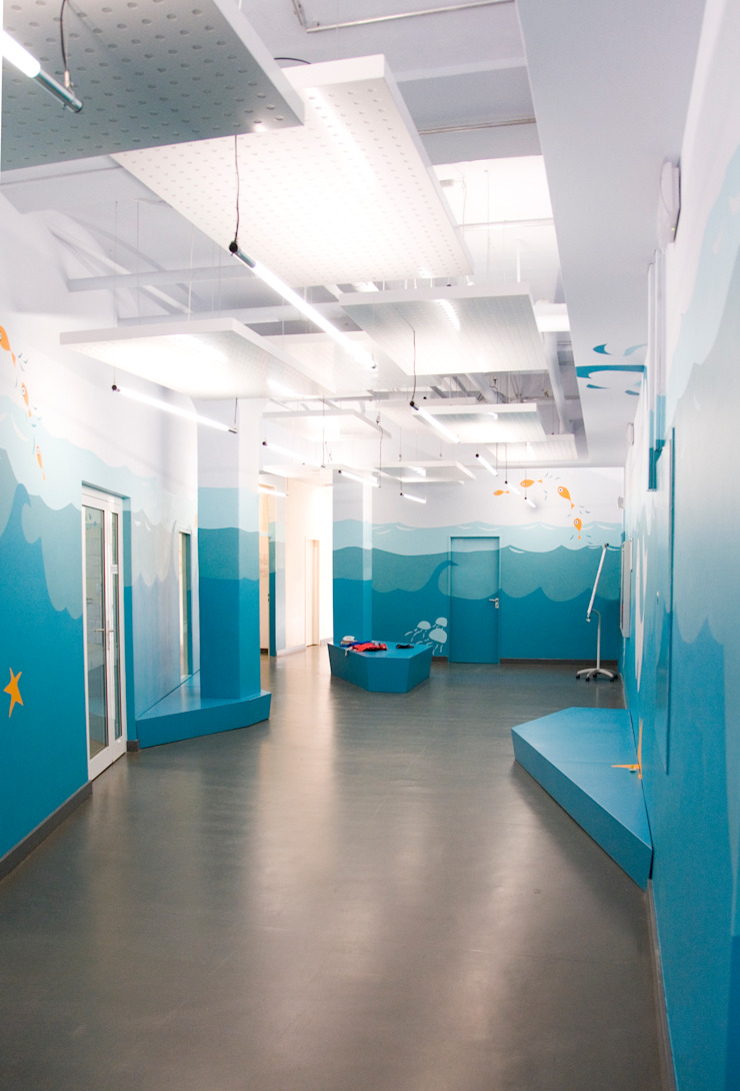 """Themenwelt """"Unter Wasser"""" Moderne Kinderzimmer von SEHW Architektur GmbH Modern"""