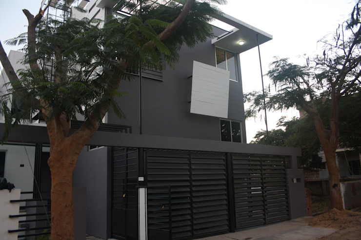 Front Elevation Houses by Ashwin Architects