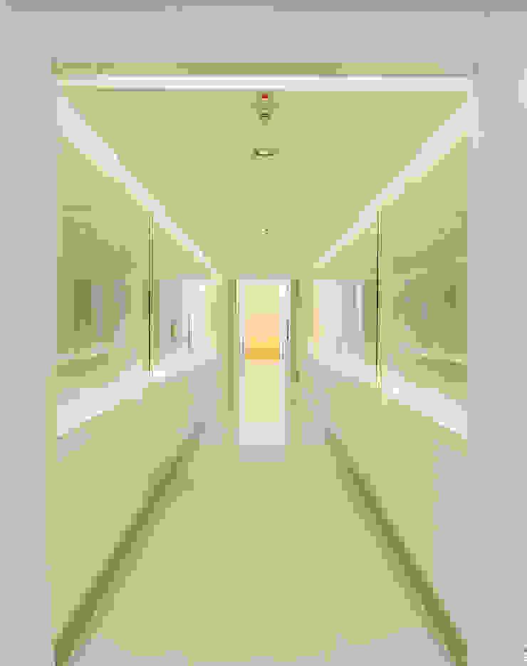 Erschließungsflächen Moderner Flur, Diele & Treppenhaus von SEHW Architektur GmbH Modern