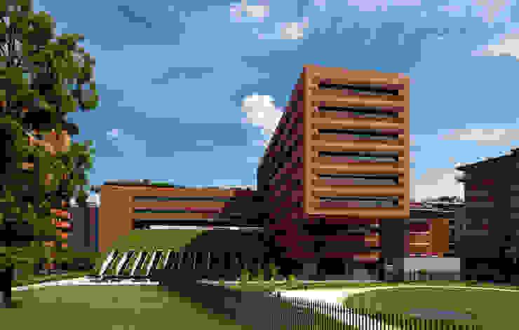 UFFICI CAMPARI E RESIDENZE Complesso d'uffici moderni di Studio Marzorati Moderno