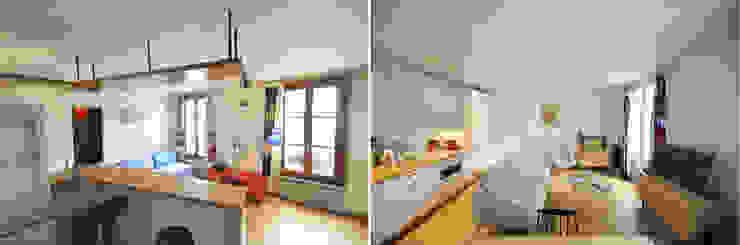 Appartement 2 pièces 45m2 par Créateurs d'Interieur